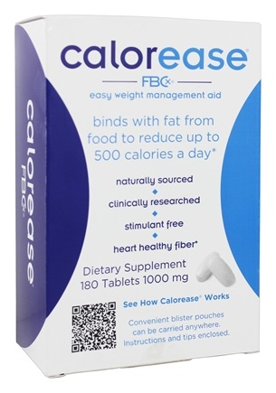 Calorease - FBCx Easy Weight Management Aid - 180 Tablets