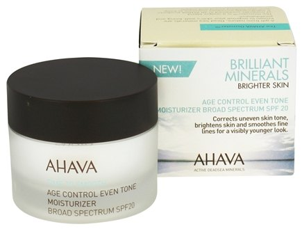 AHAVA - Time To Smooth Age Control Even Tone Moisturizer Broad Spectrum 20 SPF - 1.7 oz.