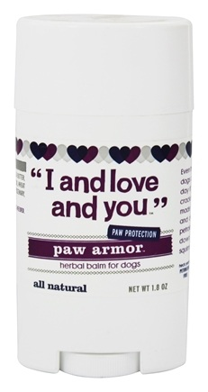 I And Love And You - Paw Armor Herbal Balm For Dogs - 1.8 oz.