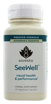 DROPPED: Savesta - Seewell Visual Support - 60 Vegetarian Capsules
