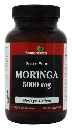 Futurebiotics - Moringa Oleifera Super Food 5000 mg. - 60 Vegetarian Capsules