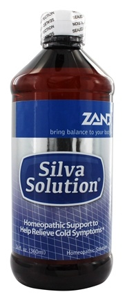 Zand - Silva Solution Cold Relief - 16 oz. (Formerly Trimedica)