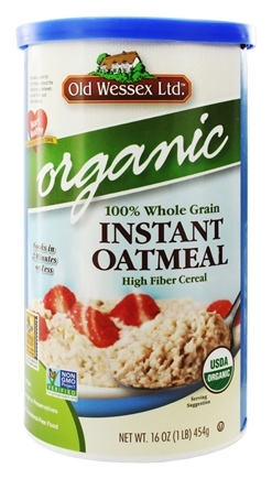 Old Wessex Ltd. - Instant Oatmeal Organic - 16 oz.