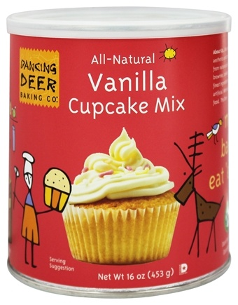 DROPPED: Dancing Deer Baking Co. - All-Natural Cupcake Mix Vanilla - 16 oz. CLEARANCE PRICED