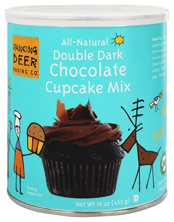 DROPPED: Dancing Deer Baking Co. - All-Natural Cupcake Mix Double Dark Chocolate - 16 oz. CLEARANCE PRICED