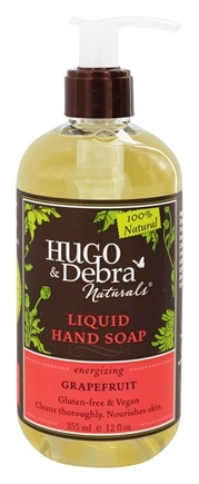 Hugo Naturals - Liquid Hand Soap Energizing Grapefruit - 12 oz.