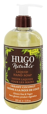 Hugo Naturals - Liquid Hand Soap Nourishing Creamy Coconut - 12 oz.