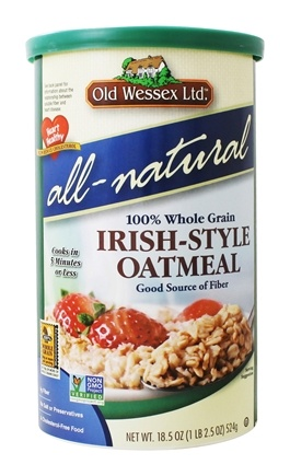 Old Wessex Ltd. - Irish-Style Oatmeal All-Natural - 18.5 oz.