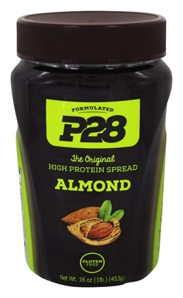 P28 - High Protein Spread Almond Butter - 16 oz.