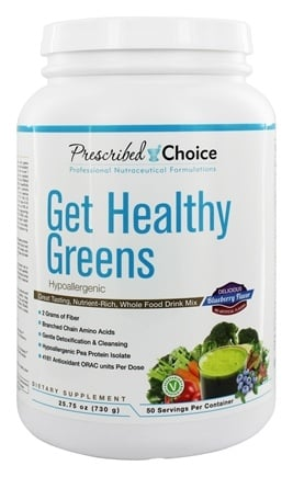 Prescribed Choice - Get Healthy Greens Whole Food Drink Mix - 1.4 lbs.