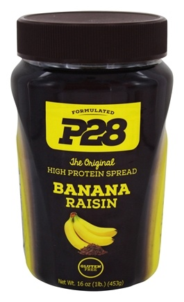 P28 - High Protein Spread Banana Raisin - 16 oz.