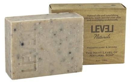 Level Naturals - Bar Soap Frankincense & Myrrh - 6 oz.