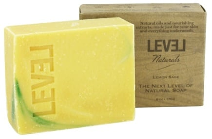 DROPPED: Level Naturals - Bar Soap Lemon Sage - 6 oz.
