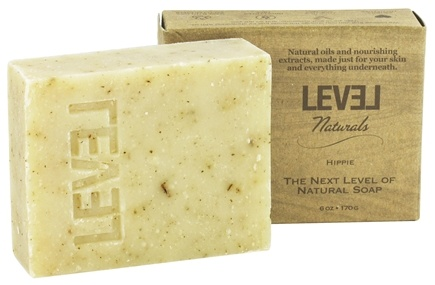 DROPPED: Level Naturals - Bar Soap Hippie - 6 oz.