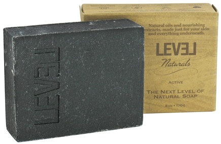 Level Naturals - Bar Soap Active - 6 oz.