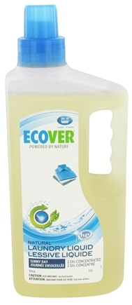 DROPPED: Ecover - Ecological Laundry Liquid 2.5X Concentrated Sunny Day 34 Loads - 51 oz. CLEARANCE PRICED