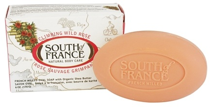 DROPPED: South of France - French Milled Vegetable Bar Soap Climbing Wild Rose - 6 oz.