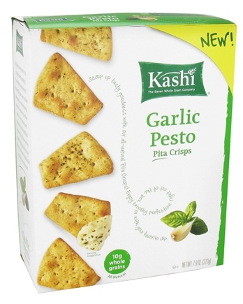 DROPPED: Kashi - Garlic Pesto Pita Crisps - 7.9 oz.