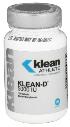 DROPPED: Douglas Laboratories - Klean Athlete Klean-D 5000 IU - 100 Tablets