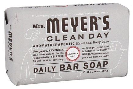 Mrs. Meyer's - Clean Day Daily Bar Soap Lavender - 5.3 oz.