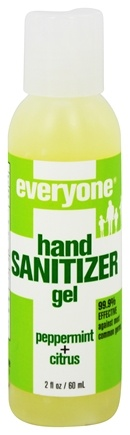 EO Products - Everyone Hand Sanitizer Gel Peppermint + Citrus - 2 oz.