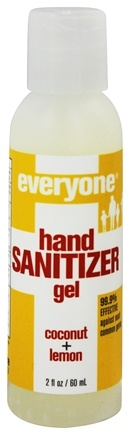 EO Products - Everyone Hand Sanitizer Gel Coconut + Lemon - 2 oz.