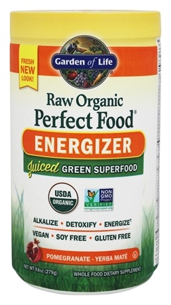 Garden of Life - Perfect Food Energizer Raw Organic Super Food - 10 oz.