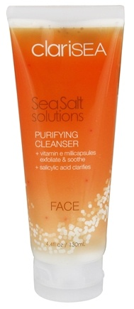 clariSEA - SeaSalt Solutions Purifying Cleanser for the Face - 4.4 oz.