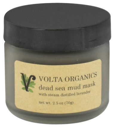 DROPPED: Volta Organics - Dead Sea Mud Facial Mask - 2.5 oz.