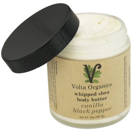 DROPPED: Volta Organics - Whipped Shea Body Butter Vanilla Black Pepper - 2 oz.