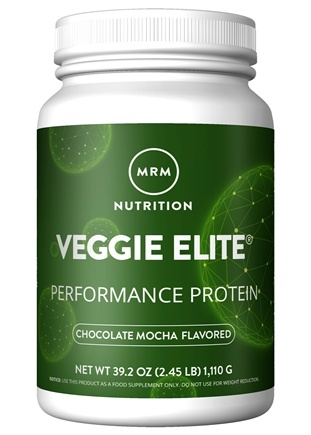 MRM - Veggie Elite All Natural Performance Protein Chocolate Mocha - 2.4 lbs.