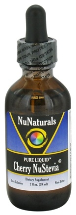 NuNaturals - Pure Liquid NuStevia Cherry - 2 oz.