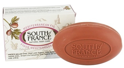 DROPPED: South of France - French Milled Vegetable Bar Soap Mediterranean Fig - 6 oz.