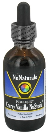 NuNaturals - Pure Liquid NuStevia Cherry Vanilla - 2 oz.
