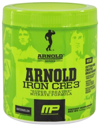DROPPED: Muscle Pharm - Arnold Schwarzenegger Series Arnold Iron CRE3 Watermelon - 4.34 oz.