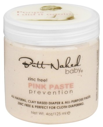 DROPPED: Butt Naked Baby - Pink Paste Diaper Rash Prevention - 4 oz.