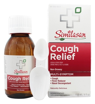 Similasan - Cough Relief Cough & Fever Syrup - 4 oz.