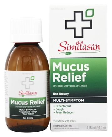 DROPPED: Similasan - Mucus Relief Expectorant Syrup - 4 oz.