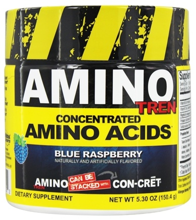 DROPPED: Promera Health - Amino Tren Concentrated Amino Acids Blue Raspberry 32 Servings - 150.4 Grams