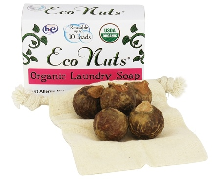 Eco Nuts - Organic Laundry Soap Nuts 10 Loads - 0.5 oz.