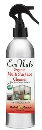 DROPPED: Eco Nuts - Organic Multi-Surface Cleaner Herbal Orange - 10 oz.