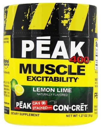 DROPPED: Promera Health - Peak 400 Muscle Excitability Lemon Lime 30 Servings - 45 Grams