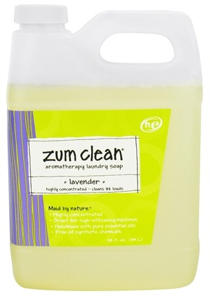 DROPPED: Indigo Wild - Zum Clean Aromatherapy Laundry Soap Lavender - 32 oz.