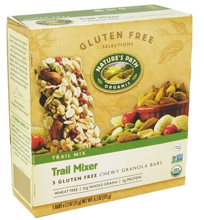 DROPPED: Nature's Path Organic - Chewy Granola Bars Trail Mixer - 5 Bars