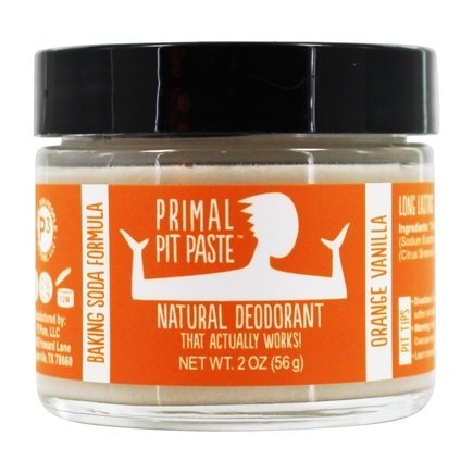 Primal Pit Paste - Natural Deodorant Kids Orange Creamsicle - 2 oz.