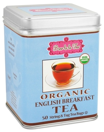 DROPPED: Brew La La - Organic English Breakfast Tea - 50 Tea Bags