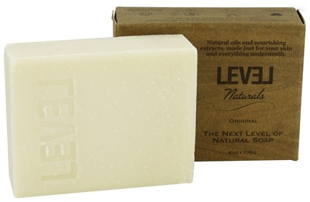 Level Naturals - Bar Soap Original (Unscented) - 6 oz.