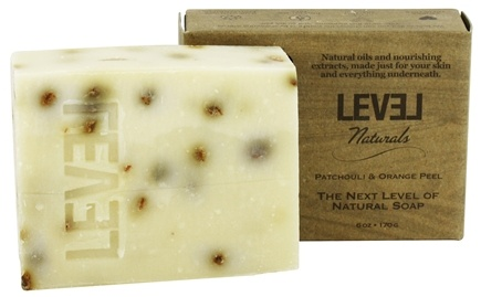 Level Naturals - Bar Soap Patchouli & Orange Peel - 6 oz.