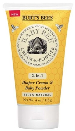 DROPPED: Burt's Bees - Baby Bee Cream-to-Powder 2-in-1 Diaper Cream & Baby Powder - 4 oz.