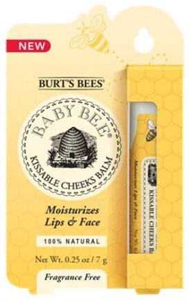 DROPPED: Burt's Bees - Baby Bee Kissable Cheeks Balm Fragrance Free - 0.25 oz.
